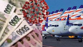 Smartwings žádají vládu o úvěry a hrozí vyhazovy. Aerolinky: Měsíční ztráta je 100 milionů
