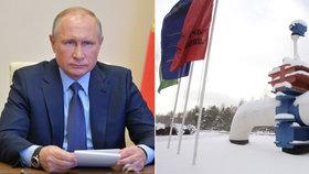 """""""Skončil jste,"""" rozčílil se Putin kvůli úniku ropy. Šéfovi podniku pohrozil vyšetřováním"""