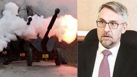 Metnar hrozí demisí a chce nová děla. Dá za ně armáda Francouzům šest miliard?