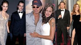 Osudoví muži nezkrotné Angeliny Jolie (45): Léta jí nadbíhal i Mick Jagger (76)!