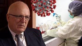 Koronavirus byl uměle vytvořený a z laboratoří unikl náhodou, míní exšéf tajné služby MI6