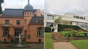 Konec plotu: Zahrady slavných brněnských vil Tugendhat a Löw-Beer spojuje turniket