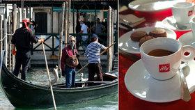 Za kafe a džus 550 korun:Italové jsou šokováni cenami po znovuotevření kaváren