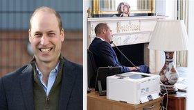 Dojemné gesto: Princ William tajně radil jako dobrovolník psychicky nemocným
