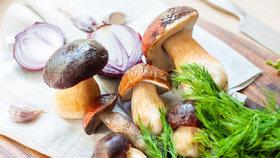 Nejlepší hříbková omáčka: Recept na neodolatelnou pochoutku vonící koprem