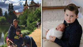 Ornella Koktová přiznala pravdu o synech! Žárlí Quentin (7) na brášku Svena?