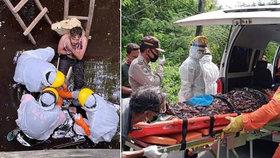 Turista strávil pekelnou dovolenou v tropickém ráji: Šest dnů trčel v jámě se zlomenou nohou