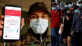 Mobily na koronavirus nestačí: Singapur chce, aby lidé nosili speciální sledovací náramky