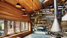 Luxusní loft pro jednoho ohromí velikostí a designem
