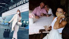 Kerndlová se po 108 dnech vrátila ze Španělska za rodiči: Hned přišla o věci!