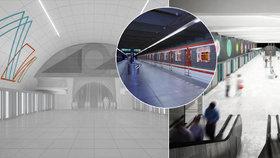 Stanice metra Nové Dvory: Jak bude vypadat její okolí? Město nechá vypracovat studii