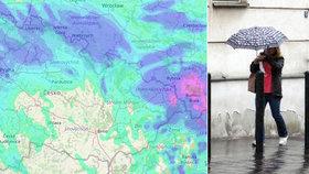 Dusno v Česku: Přiženou se bouřky s přívalovým deštěm, sledujte radar Blesku