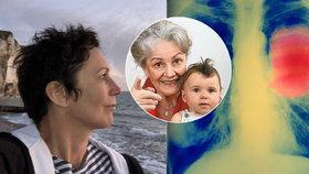 """""""Děkuji za každý den, co dostala navíc."""" Dcera Galatíkové (†69) promluvila o rakovině plic"""