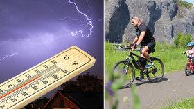 Silné bouřky dorazily do Česka. A utnou i první tropy, sledujte radar Blesku
