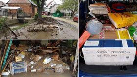 Povodně změnily život obyvatel na Olomoucku: Lidé se semkli a drží pevně při sobě