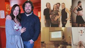 Těhotná Leichtová to má za pár: Trauma z hypnoporodu? Překvapivá slova partnera!