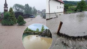 Povodně v Česku: Bahno v domech i děs v zoo. Bouřky se vrátí, sledujte radar Blesku