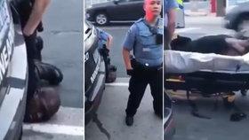 """""""Vy jste ho zabili?!"""" Nové video ukazuje, jak svědkové prosili policii o Floydův (†46) život"""