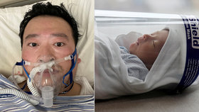 """""""Vidíš nás z nebe?"""" Vdova po lékaři (†34), který varoval před virem, porodila v Číně syna"""