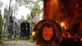 Kostel na Tachovsku peklem v pohádce Z pekla štěstí 2: Gott (†80) si roli Lucifera vyprosil!