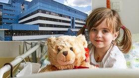 Adélka (5) s transplantovaným srdíčkem! Malá bojovnice pomohla vybrat peníze pro děti na kardiologii v Motole