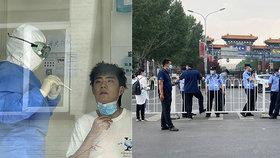 """Druhá vlna v Číně? Peking zavedl """"válečná"""" opatření, zavřel školy a omezil dopravu"""