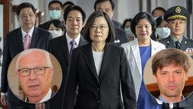 """""""Nechci být otrokem Číňanů,"""" hřímá Hilšer. Drahoš přidal plán cesty na Tchaj-wan"""