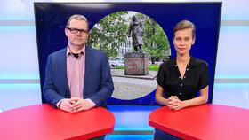 """Vysílali jsme: Ničení soch """"hrdinů"""". Přepisování dějin, nebo nutná součást boje proti rasismu?"""