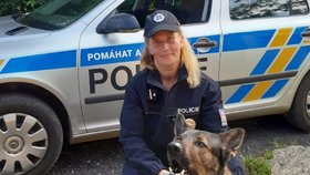 Zloděj (39) hrozil ostraze nožem! Utekl i s lupem, v křoví ho vyčenichal policejní pes