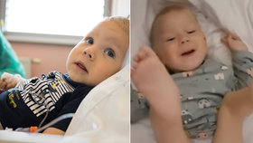 Maxík s SMA měsíc po aplikaci zázračného léku ukazuje pokroky: Už sám zvedá nohy!