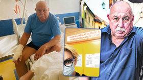 Zvrat v léčbě leukémie Andreje Hryce: Zásadní zpráva přišla po 60 dnech!