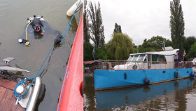 Dramatická záchrana na Vltavě: Po řece plula neovladatelná loď, za všechno mohla stará bójka