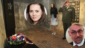 Metnar poslal na pietu za parašutisty mladou náměstkyni. Kdo je Kateřina Blažková?