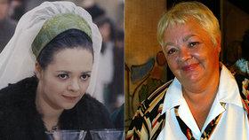 »Zlá Dora« z Popelky Dana Hlaváčová slaví 75 let! Kam herečka zmizela?