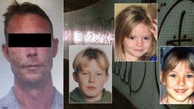 Kauza ztracené Maddie: Stopy údajného vraha vedou i do Česka!