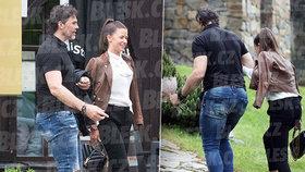 Krásná Dominika byla s Jágrem ve Špindlu: Pak se snažila mazat stopy!