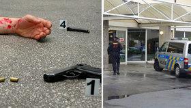 Minuty hrůzy v pražské nemocnici: Muž si sem přišel pro smrt! Do srdce se střelil v čekárně