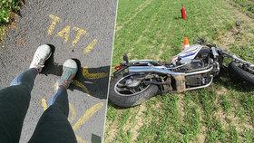 Valerii zemřel milovaný tatínek: Chtěl na motorce objet Česko, ona pro něj 2000 kilometrů uběhne!