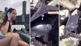 Teenageři našli na břehu moře podezřelý kufr: Uvnitř byla rozřezaná mrtvola!