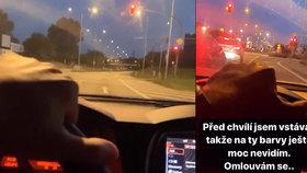 Další idiot za volantem? Mladík schválně projel na červenou! Expert se zděsil