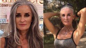 Padesátnice, která strčí dvacítky do kapsy! Britka Caroline (55) boduje tělem modelky