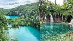 Plitvická jezera v Chorvatsku jsou rájem na zemi: Jak se do nich dostat z Česka?