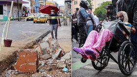 Počet mrtvých po zemětřesení se vyšplhal na 10. V Mexiku je i 5000 poškozených domů