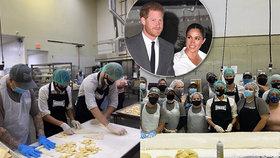 Z luxusu do kuchyně? Meghan a Harry začali pracovat jako pekaři!