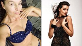 Vnadná Iva Kubelková vytáhla sexy fotku: Nahoře puntíky, dole proužek!
