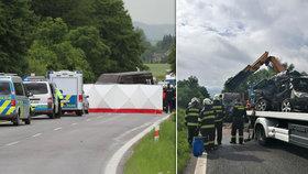 Subaru vyjelo do protisměru! V kabině zahynul muž a těhotná žena  (oba †31)