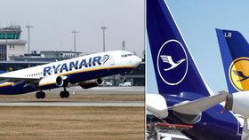 Lufthansa získá od německé vlády 240 miliard. Ryanair prská: Chtějí zničit konkurenci