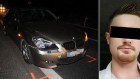 Lidé se loučí s Matoušem (†23), kterého z koloběžky srazil mladík v BMW: Kamarád mu složil písničku na pohřeb