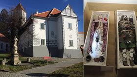 Muzeum v Kyjově se otevřelo po třech letech oprav: Láká na hroby Langobardů