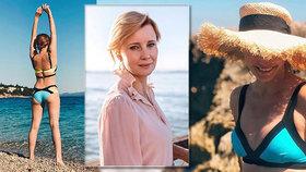 Jitka Schneiderová (47) se sluní v Chorvatsku: Fotkou v plavkách vyráží dech!